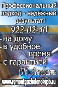Ремонт газовых колонок СПб