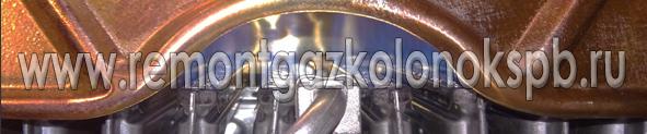 Газовая колонка работает с хлопками