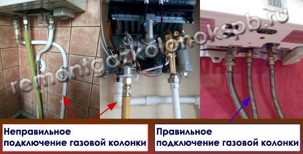Мастер по установке газовой колонки